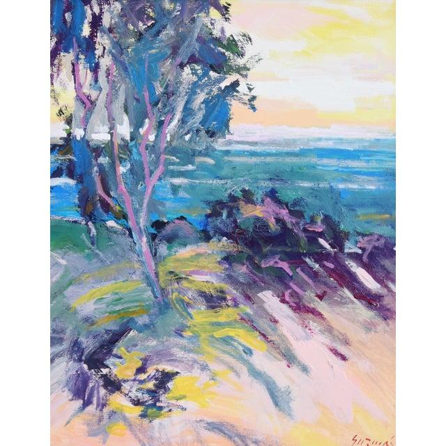 Ventura California Original Juan Guzman Plein Air Landscape Seascape Painting For Sale In Los Angeles - Image 6 of 9