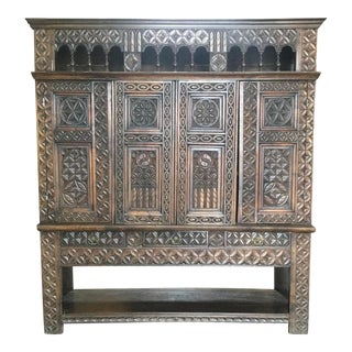 Fascinating 19th Century French Bookcase Storage Unit For Sale