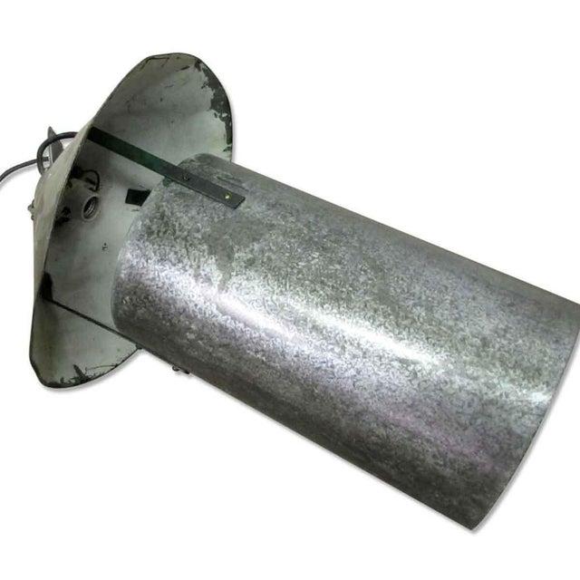Industrial Steel Oversized Pendant Light For Sale - Image 5 of 5