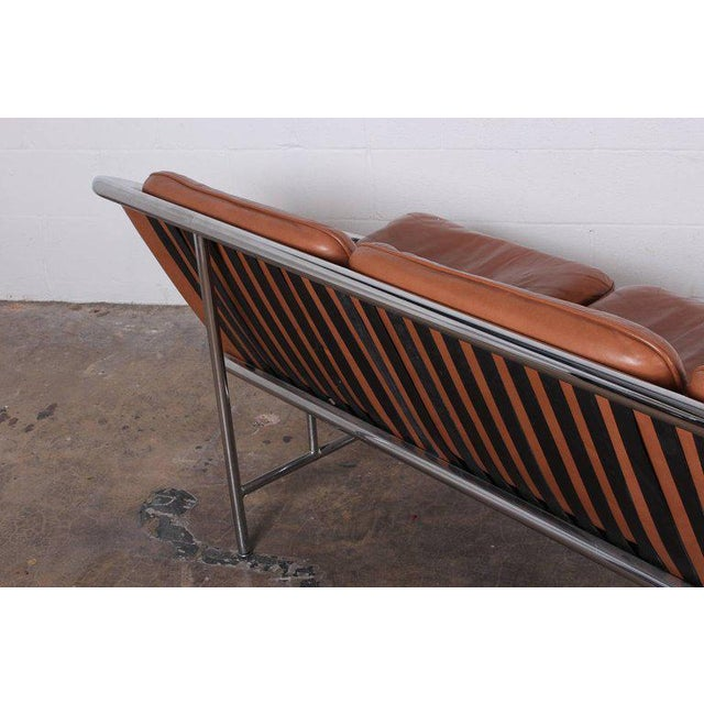 Brown Pair of Sling Sofas by George Nelson For Sale - Image 8 of 10