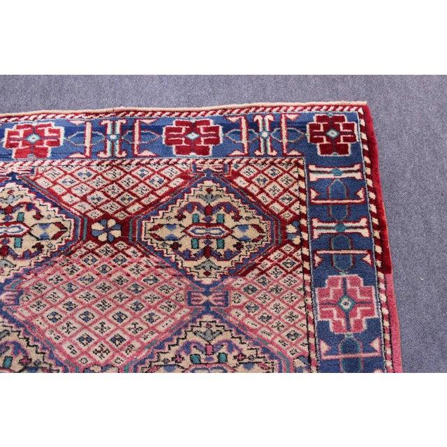 Vintage Turkish Oushak Rug - 3′1″ × 6′5″ For Sale - Image 4 of 10