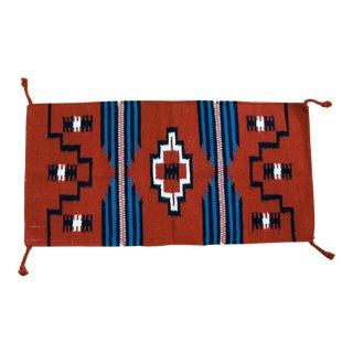 Navajo Style Hand Woven Wool Rug -1′8″ × 3′4″