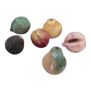 1970s Assorted Stone Fruit - Set of 6 For Sale