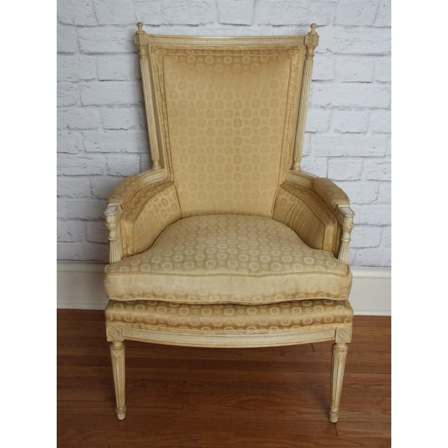 French Directoire Louis XVI Fauteuil - Image 7 of 11