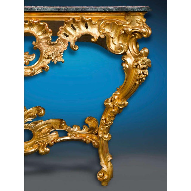 Louis XV Period Console Table For Sale - Image 4 of 5