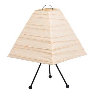 Vintage Noguchi Style Paper Lamp For Sale
