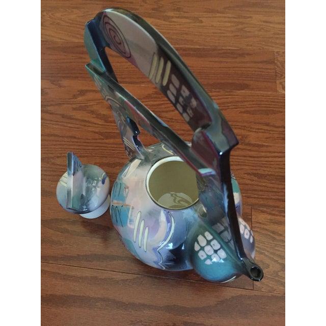 Ceramic Tom Hubert Handmade Porcelain Teapot - Master Ceramist Professor Fine Arts For Sale - Image 7 of 11