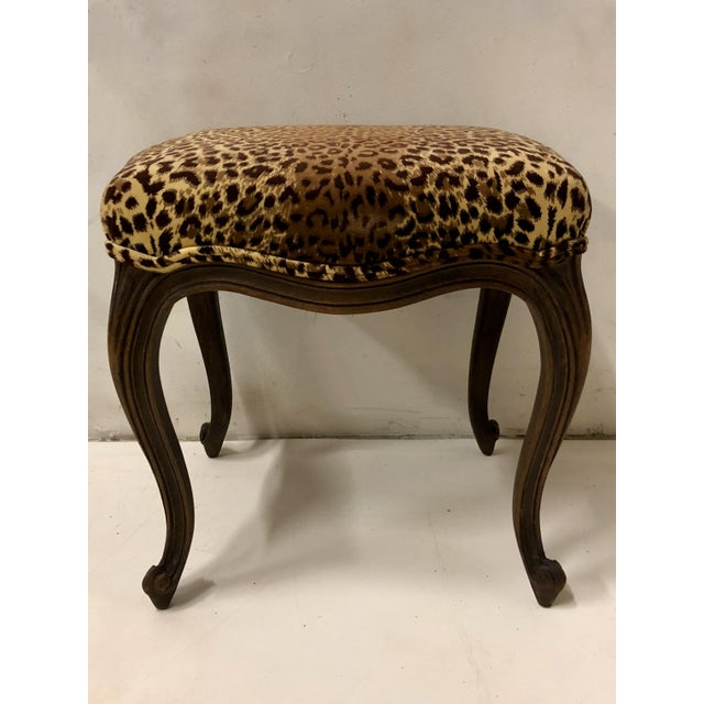 Pair of French Ottomans For Sale In Atlanta - Image 6 of 7