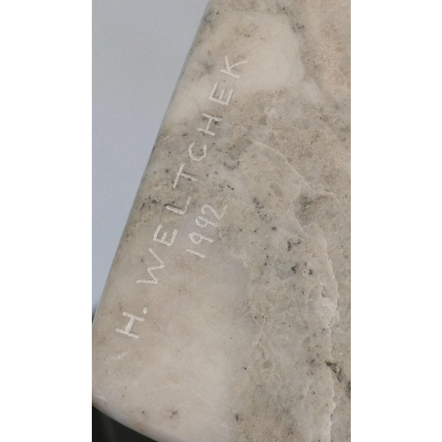 1990s Harry Weltchek's Stone Sculpture, 1992 For Sale - Image 5 of 6