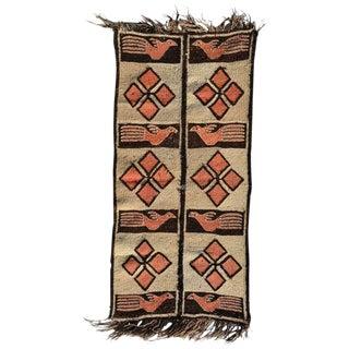 Road Runner Tapestry Wool, Peru, 1940s For Sale