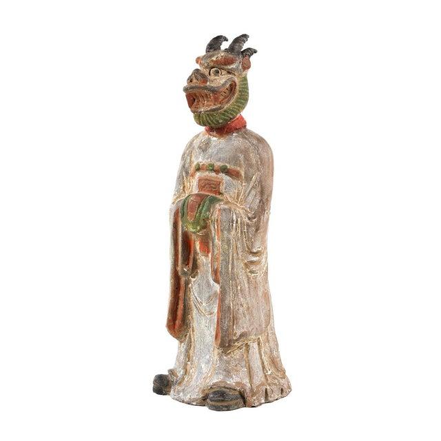 Antique Chinese Zodiac Dragon Figurine - Image 2 of 9