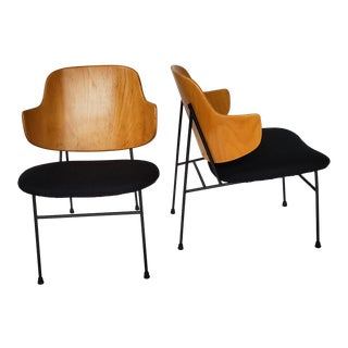 Kofod - Larsen Penguin Chairs - a Pair For Sale
