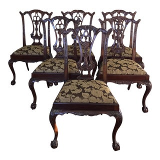 Chippendale Style Dining Chairs - Set of 6