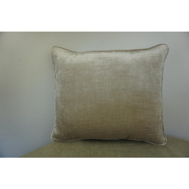 Fortuny Single Fortuny Accent Pillow W/ Urn For Sale - Image 4 of 6
