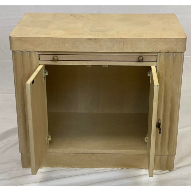 Hickory White Vintage Contemporary Art Deco Hickory White Cabinet For Sale - Image 4 of 11