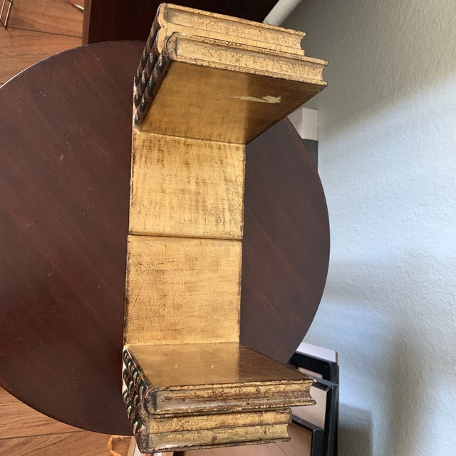 Traditional Italian Faux Book Bookends - a Pair For Sale In Phoenix - Image 6 of 10