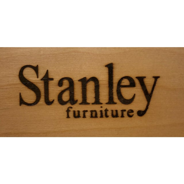 Campaign Style Bachelor Chest by Stanley For Sale - Image 10 of 12