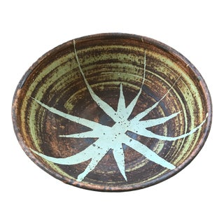 Vintage Art Studio Pottery Bowl For Sale