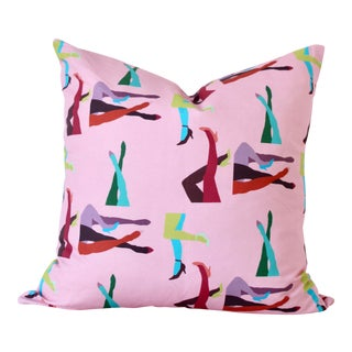 "Contemporary Legs Pillow Cover - 22"" For Sale"
