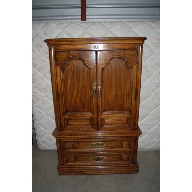Thomasville Furniture Mediterranean Style Armoire - Image 9 of 9