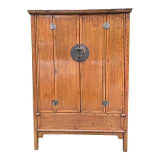 Antique Chinese Armoire Chest For Sale