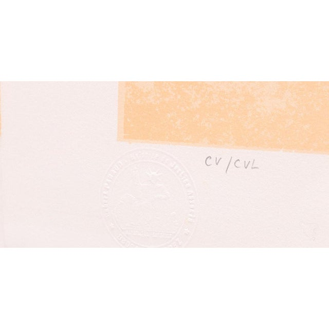 """Jean Paul Cleren Limited Edition Lithograph-""""Double Visage""""-Pencil Signed/Numbered For Sale - Image 4 of 6"""