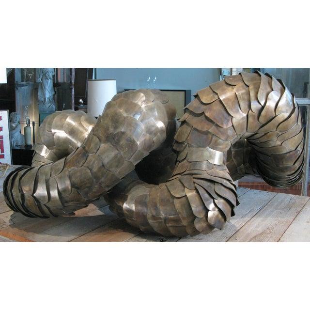 Ad Infinitum' Sculpture by Artist Joseph Kurhajec For Sale