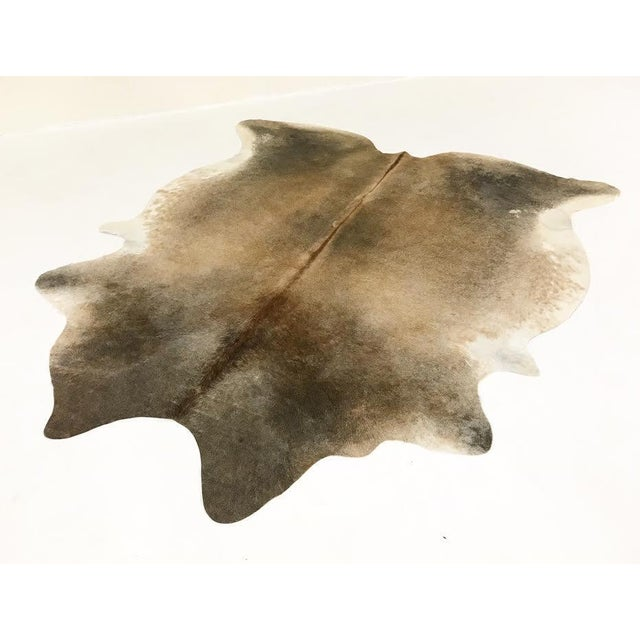 Salt & Pepper Cowhide Rug - Image 2 of 4