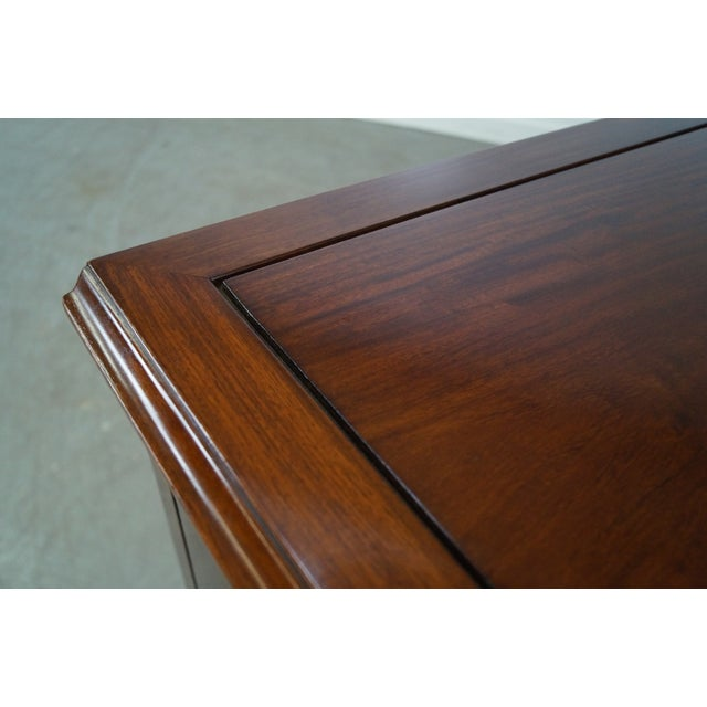 Solid Mahogany Chippendale Georgian Court Dresser For Sale - Image 9 of 10