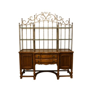 20th Century French Country Bernhardt Furniture Sideboard / Buffet For Sale