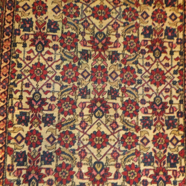 Antique Persian Isfahan Rug - 4' x 3' - Image 3 of 5