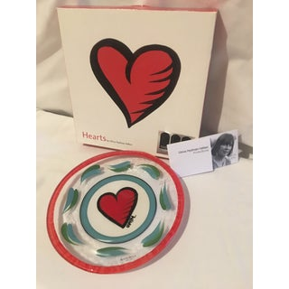 1990s Kosta Boda Heart Plate - Bowl (Signed) Preview