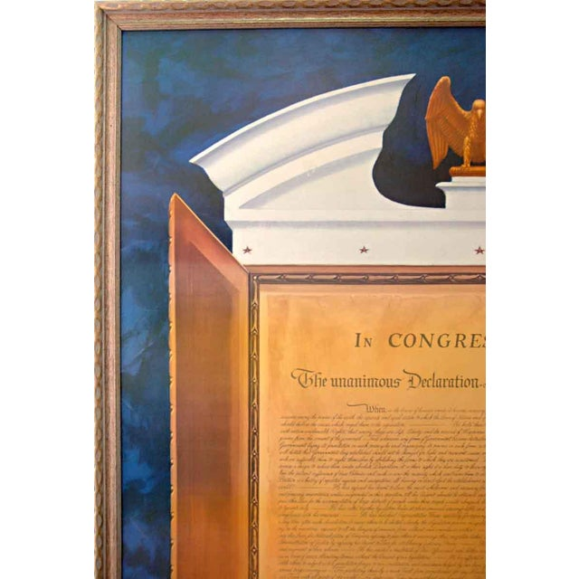 Commemorative Declaration of Independence Lithograph - Image 3 of 10