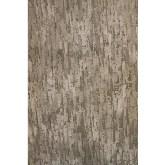 Snow is falling softly in Youngson's texture study in winter whites with a touch of pale sky blue. This is an amazing...