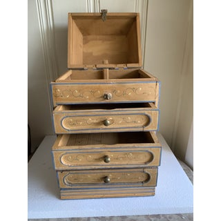 Boho Rustic Chic Jewelry Organizer Box Preview