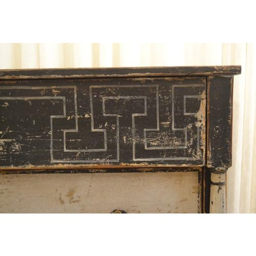 Antique Chest With New Paint (Black and White) From Spain For Sale In Nashville - Image 6 of 13