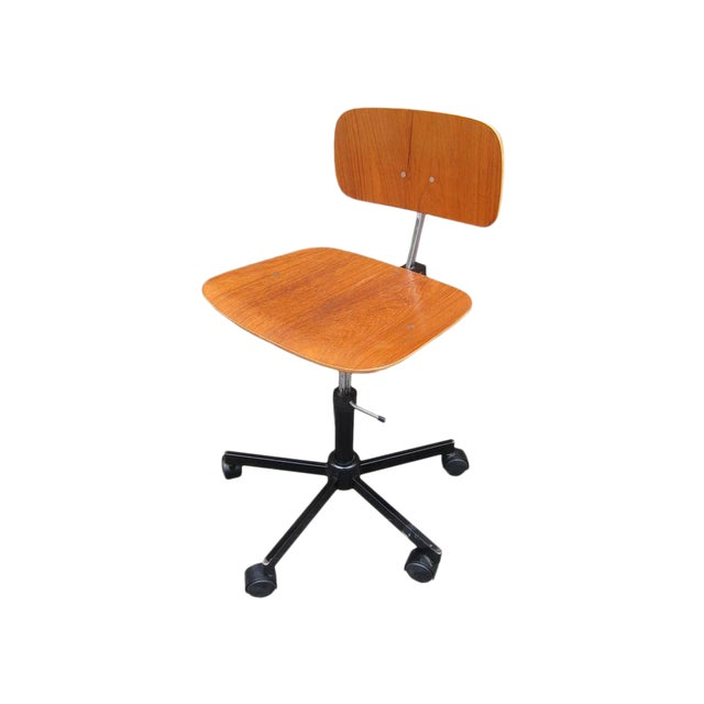 Mid-Century Modern Desk Chair - Image 1 of 8