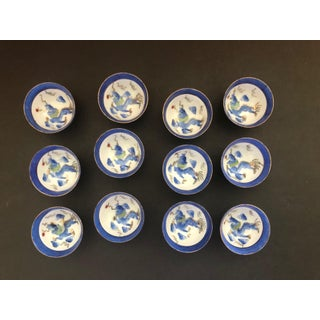 1950s Ceramic Chinese Tea or Sake Cups - Set of 12 Preview