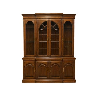 "Harden Regency Collection Solid Cherry 65"" China Cabinet For Sale"