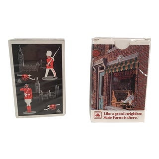 Vintage Playing Card Sets - 2 Decks