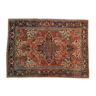 "Vintage Heriz Carpet - 6'2"" X 8'8"" For Sale"