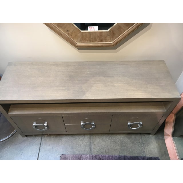 Custom Grey Wash Console - Image 7 of 9