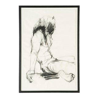 Female Figural Sketch From Amsterdam For Sale