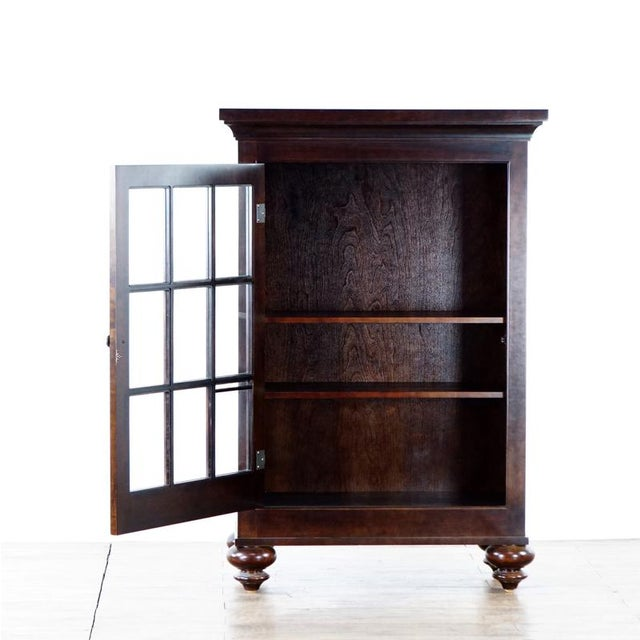 American Classical Restoration Hardware Storage Cabinet For Sale - Image 3 of 8