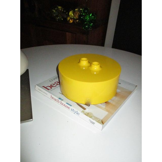 Massimo Vignelli Yellow Melamine Salad Bowl - Image 4 of 11