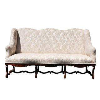 Louis XIV Walnut Settee