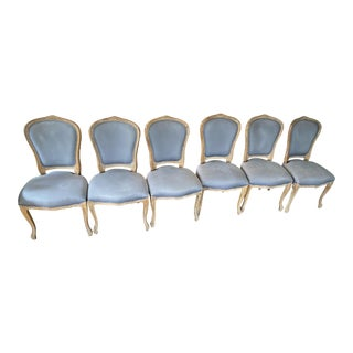 Hd Buttercup French Contemporary Chairs - Set of 6 For Sale