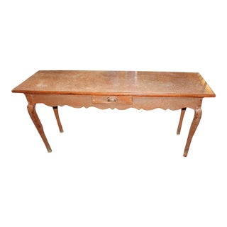 French Baker's or Confectioner's Table For Sale