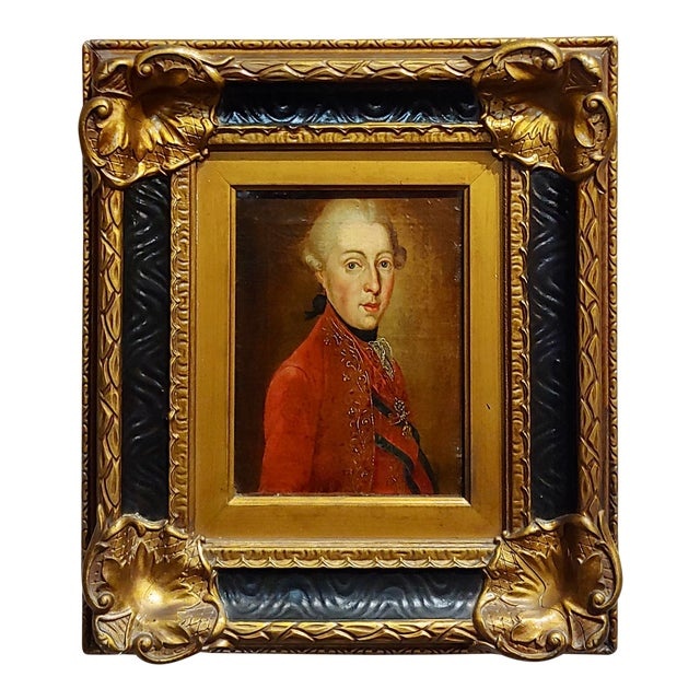 """18th Century """"Ferdinand DI Borbone, King of Naples"""" Oil Painting For Sale"""