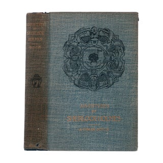 """1892 """"First American Edition, Adventures of Sherlock Holmes"""" Collectible Book For Sale"""